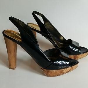 BCBGirls Warren Patent Leather Heels, Size 8.5B